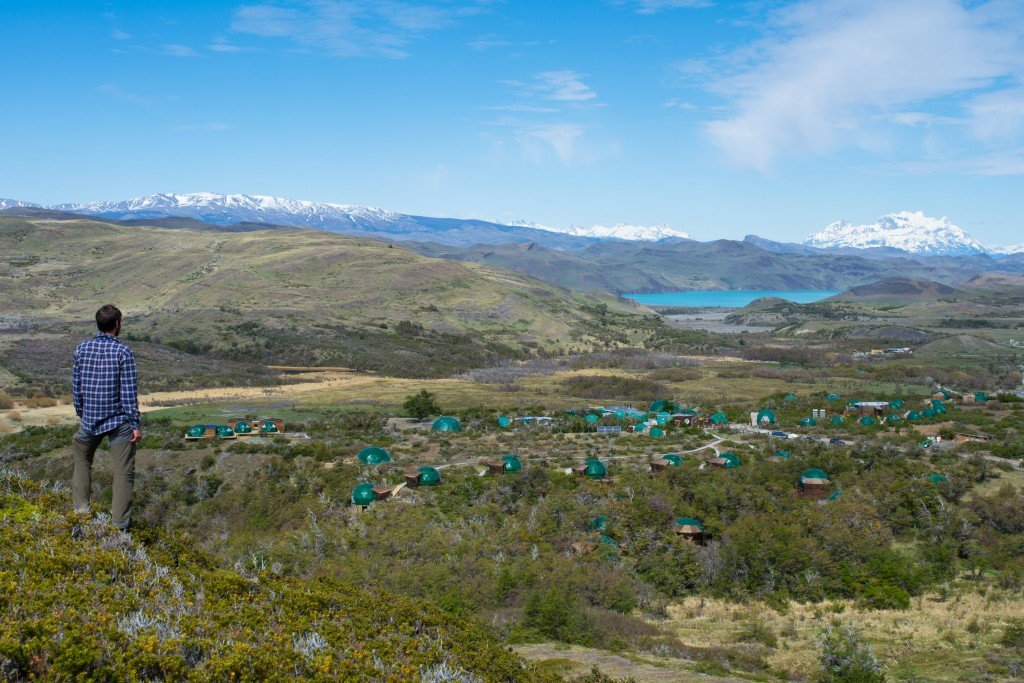 View over Eco Camp