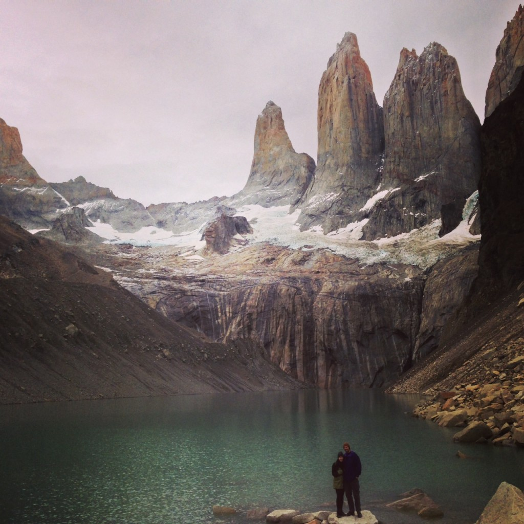 Excursions from an eco camp in Torres del Paine