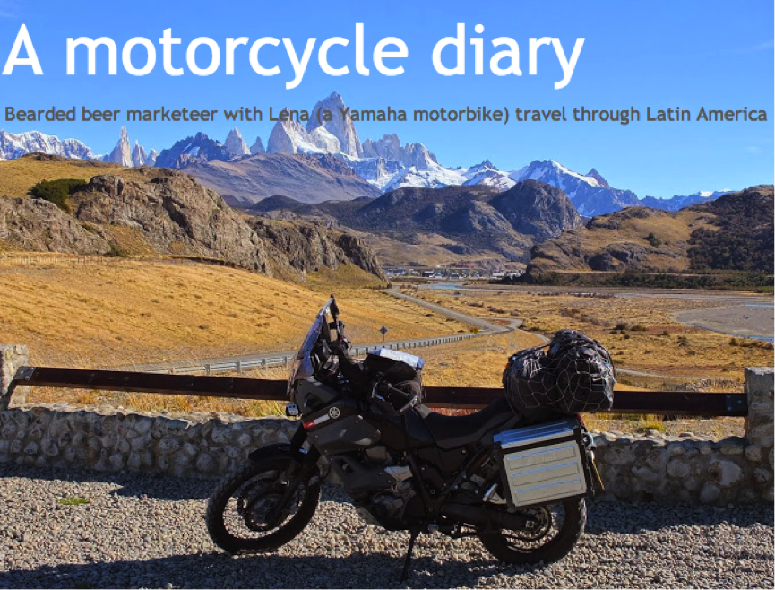 Ian's Motorcycle & Adventure Cruise in Patagonia