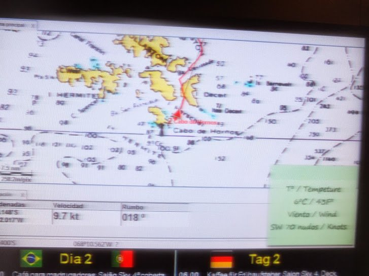 70 knot winds at Cape Horn