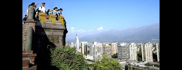 View from Cerro Santa Lucia