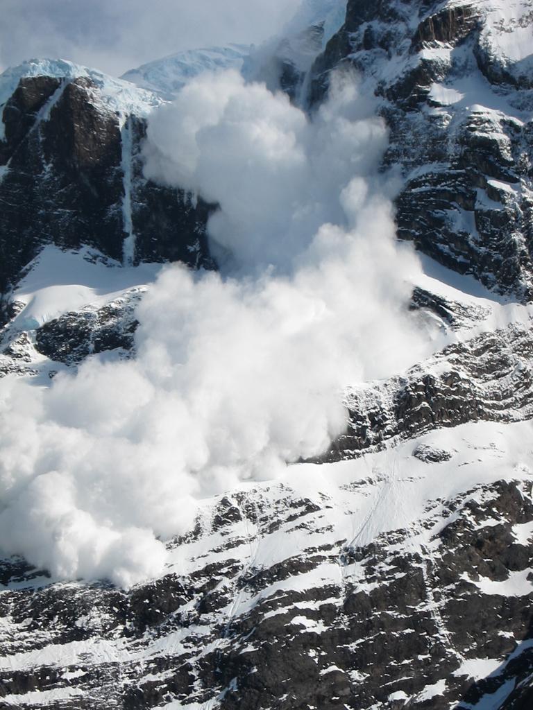 Avalanche, Cerro Paine Grande