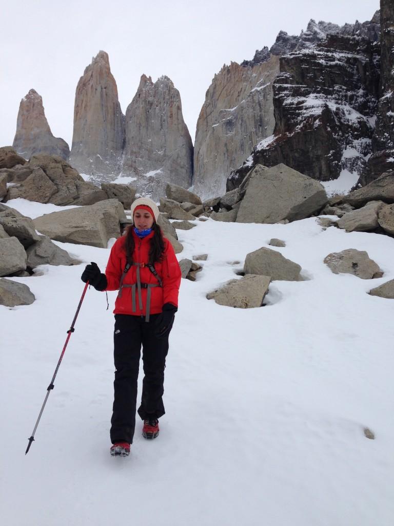 Lauren's Winter W Trek in August