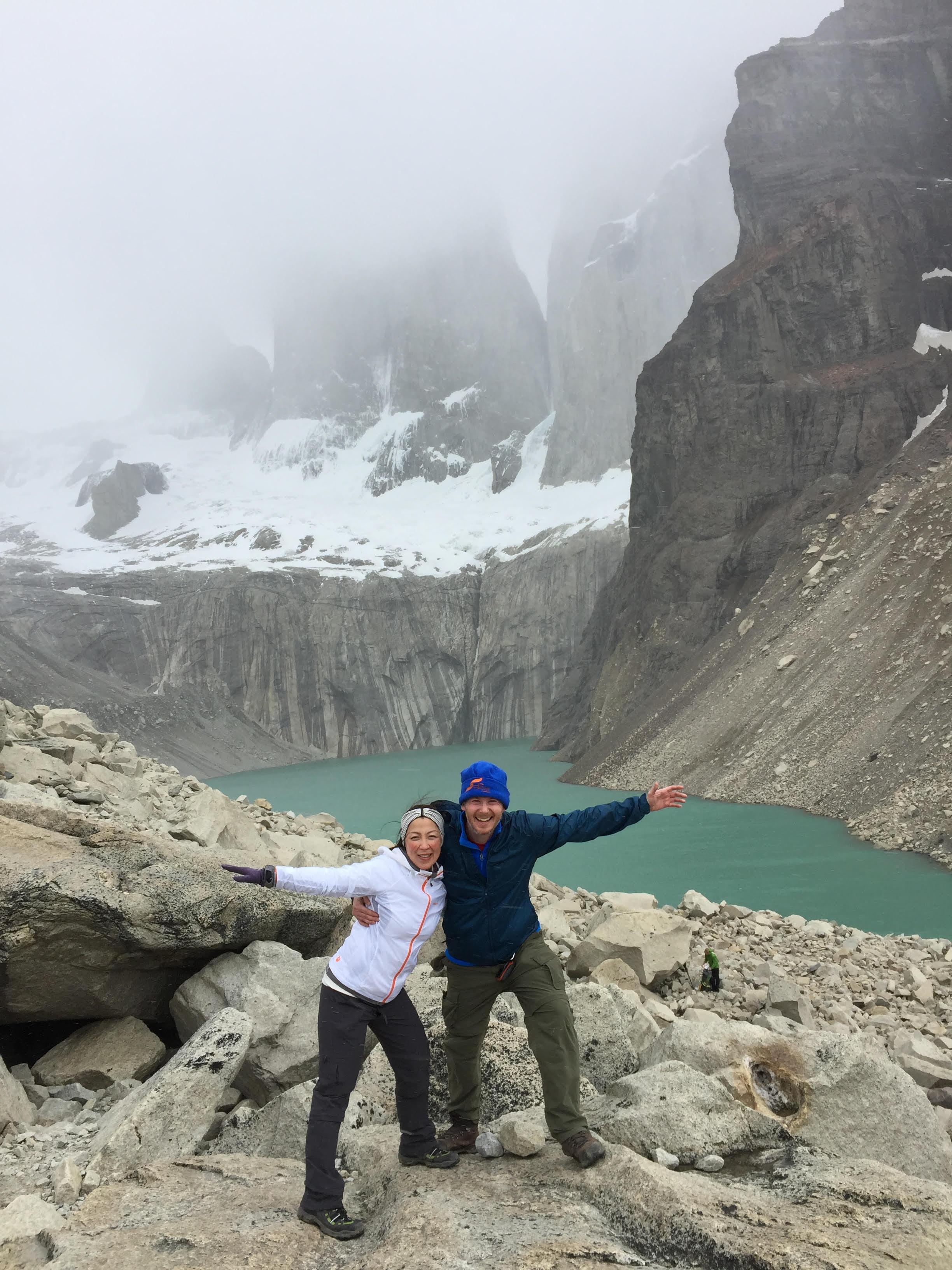 Nui & Steve's Hikes in Torres del Paine & Los Glaciares