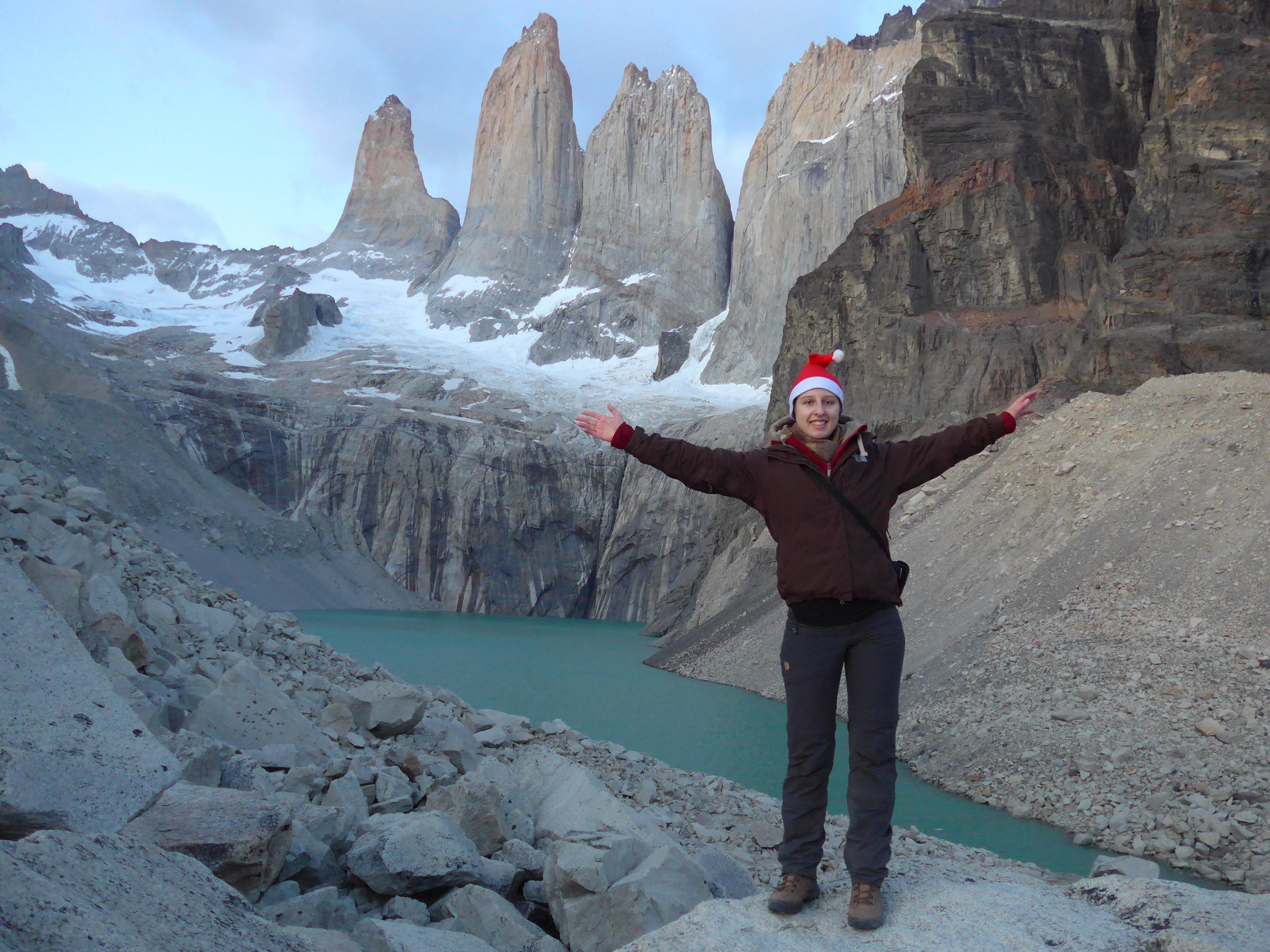 Cecile's W Trek in Torres del Paine