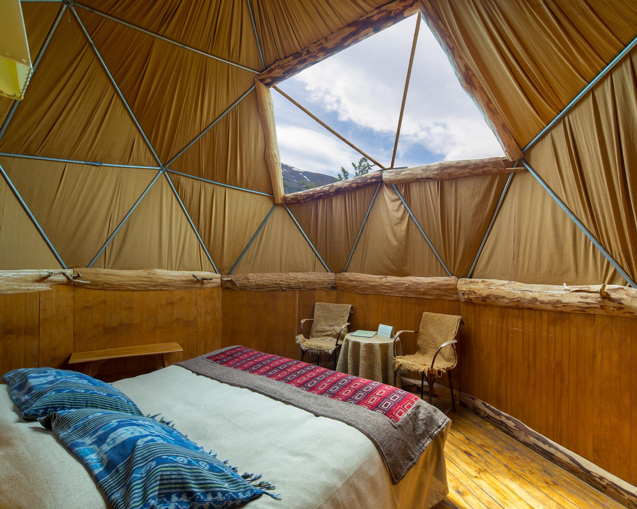 EcoCamp superior yurt